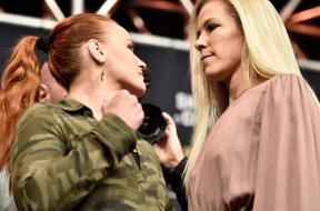 Katlyn-Chookagian-vs-Valentina-Shevchenko-face-off
