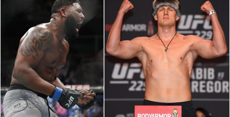 Curtis Blaydes affrontera Alexander Volkov en juin à l'UFC