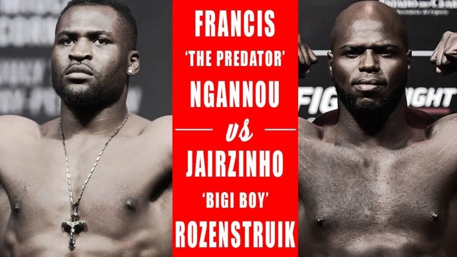 On verra peut-être Francis Ngannou à l'UFC 249