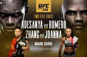 UFC 248 – Adesanaya vs Romero