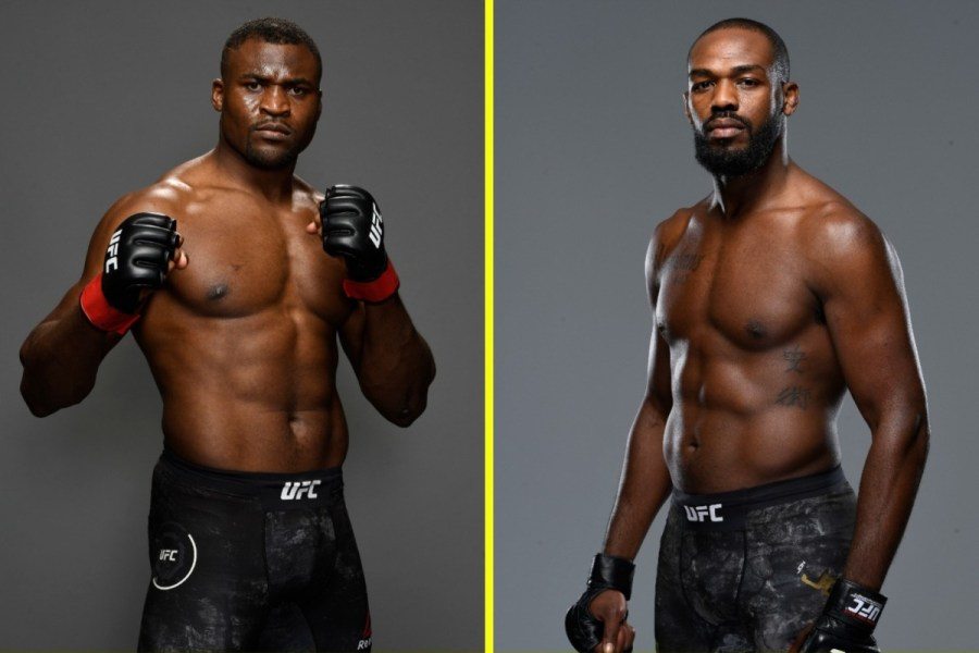 jones vs ngannou
