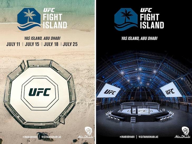 Voici le protocole sanitaire en vigueur sur Fight Island de l'UFC