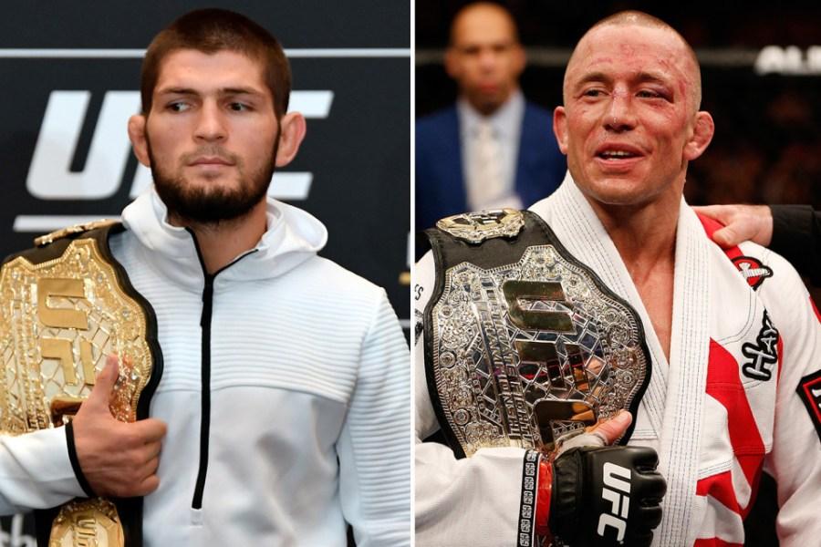 GSP n'a pas eu de nouvelles de l'UFC concernant le combat contre Khabib