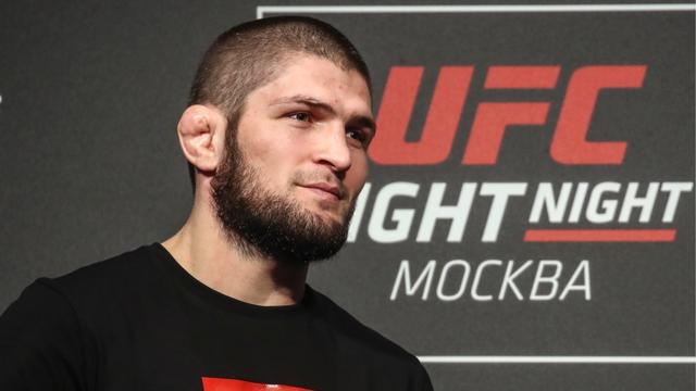 khabib reaction defaite mcgregor