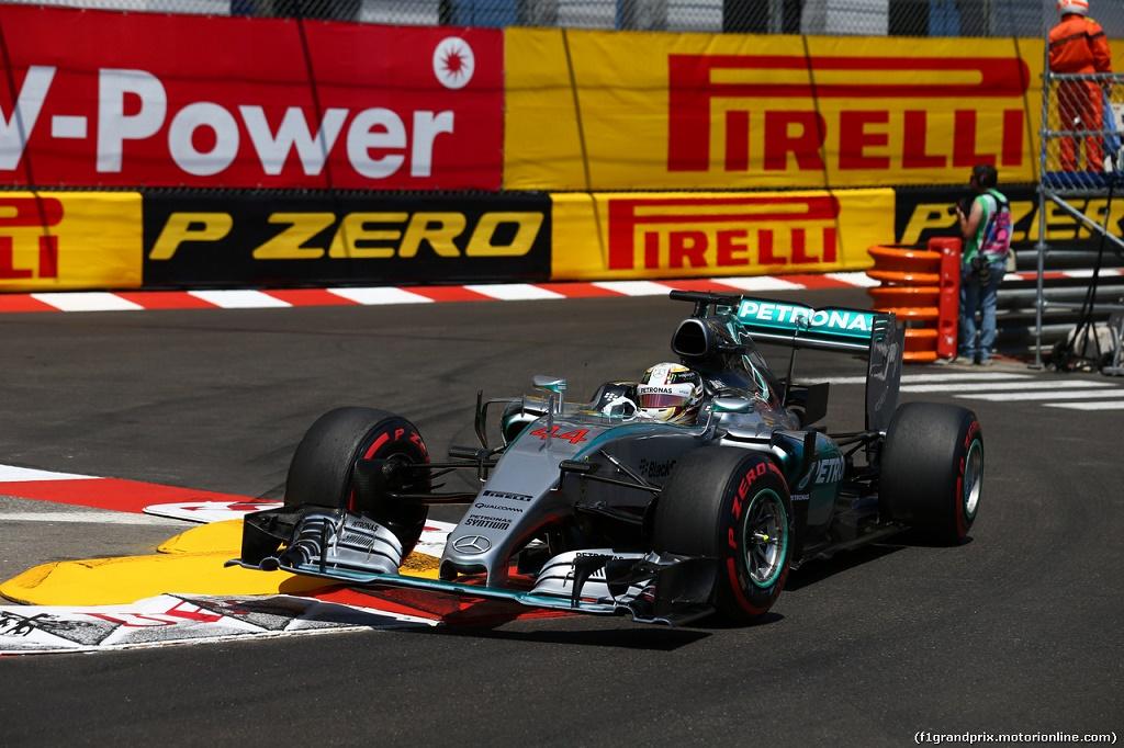 24.05.2015- Race, Lewis Hamilton (GBR) Mercedes AMG F1 W06
