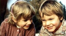 Roger et Diana Federer enfants