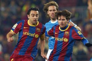 Messi et Xavi toujours aussi complices