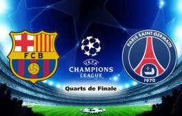 Vidéo buts Barcelone-PSG