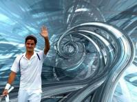 R Federer en image