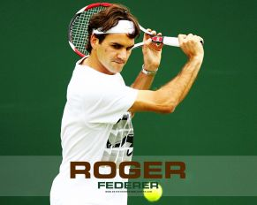 roger_federer green wallpaper