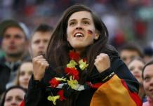GOOOAAAAL Supportrice Allemagne Coupe du monde 2014
