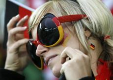 Supportrice Allemagne Coupe du monde 2014