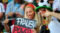 Supportrices Allemagne Coupe du monde 2014