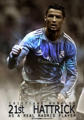 cristiano-ronaldo-21e coupe du chpeau Real fond d'écran foot