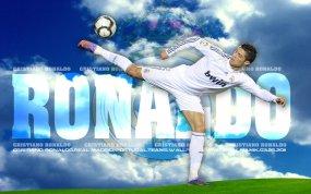 fond d'écran foot Cristiano Ronaldo
