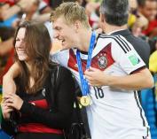 Jessica Farber Toni Kroos Coupe du Monde