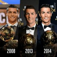Ballons d'Or de Cristiano Ronaldo