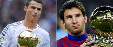 ronaldo vs. messi ballon d'or