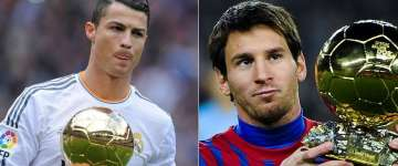 ronaldo vs. messi ballon d'or