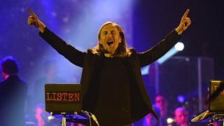 Show man David Guetta Source: Twitter