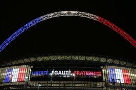 Angleterre - France wembley liberté égalité fraternité france