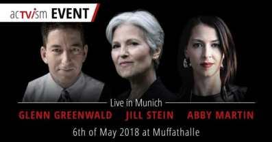 Jill Stein, Abby Martin, Glenn Greeenwald