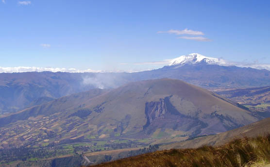 Cubilche y Volcán Cayambe foto PJLG