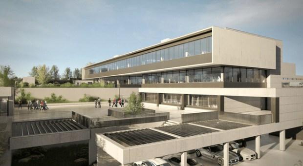 Imaxe do proxecto da sede de Netflix en Madrid.