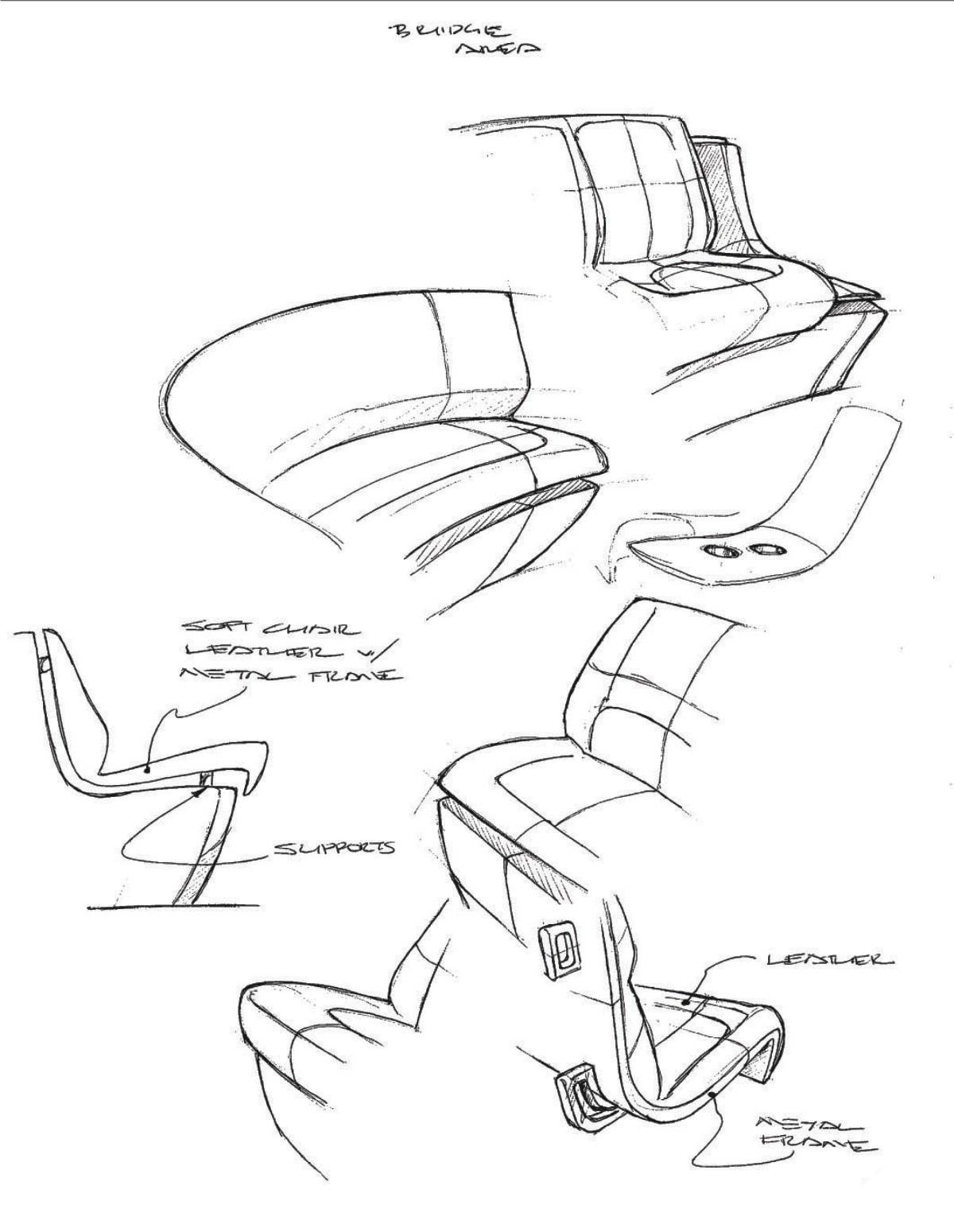 Yacht Interior Architectural Design