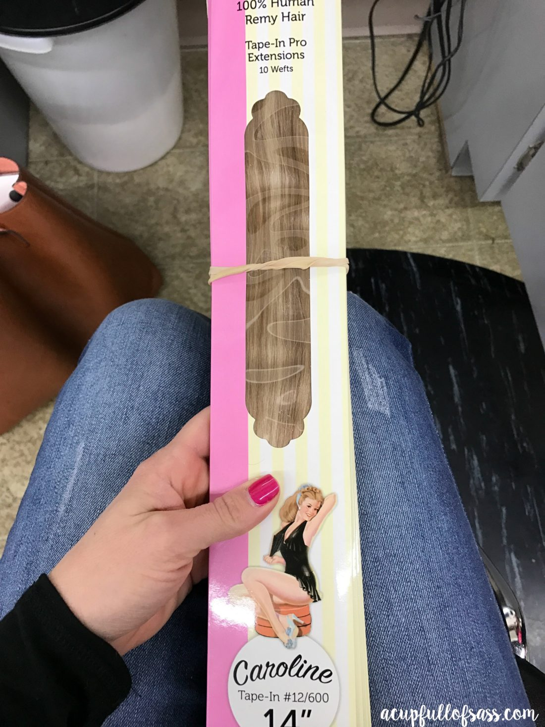 Tape In Hair Extensions Review A Cup Full Of Sass
