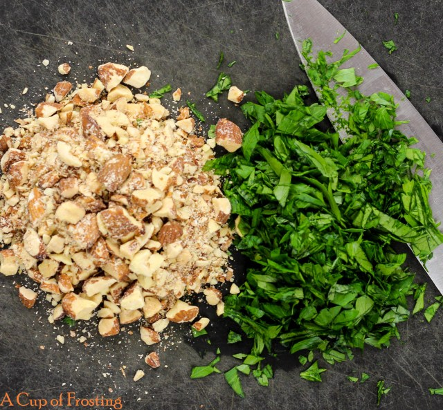 Chopped Walnuts and Parsley
