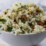 Rice with Parsley and Walnuts