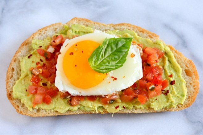 Bruschetta Breakfast Toast Recipe