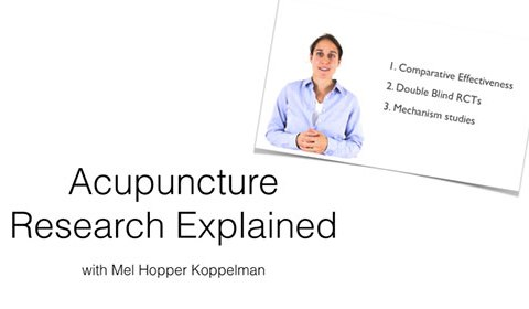 Acupuncture Research Explained