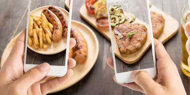 Dieta, estudo diz que postar fotos de comida ajuda você a se controlar