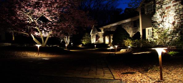Landscape Lighting Design New Hampshire Landscaping