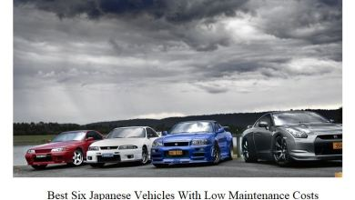 Photo of Best Six Japanese Vehicles With Low Maintenance Costs
