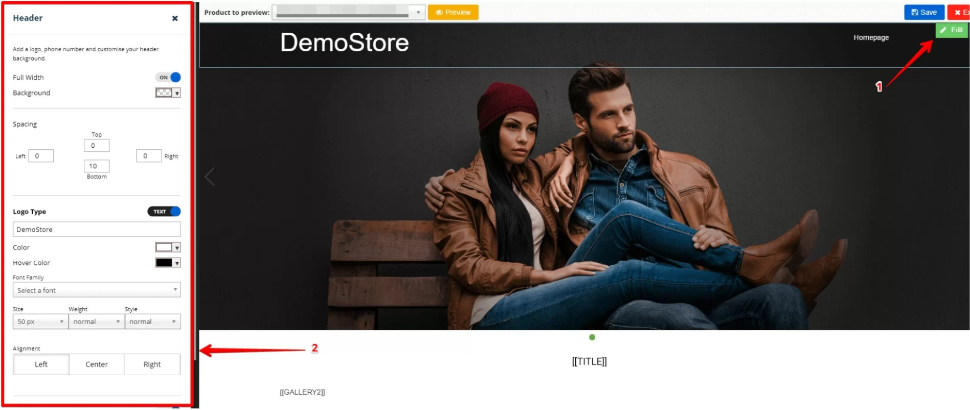 ebay Listing template Editing options