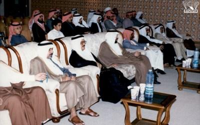 فضل علماء العرب والمسلمين : محاضرة د. علي عبد الله الدفاع – إدارة / محمد الحميد .