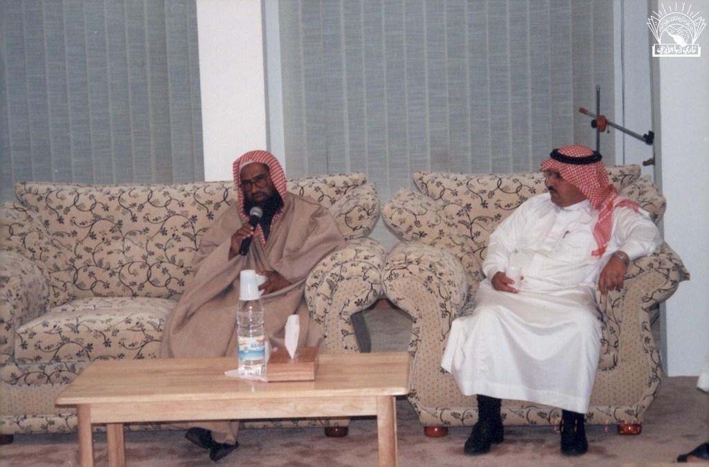 مسامرة مع الأستاذ / أحمد إبراهيم مطاعن .