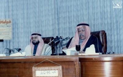 د. أحمد خالد البدلي في إحدى المحاضرات ..