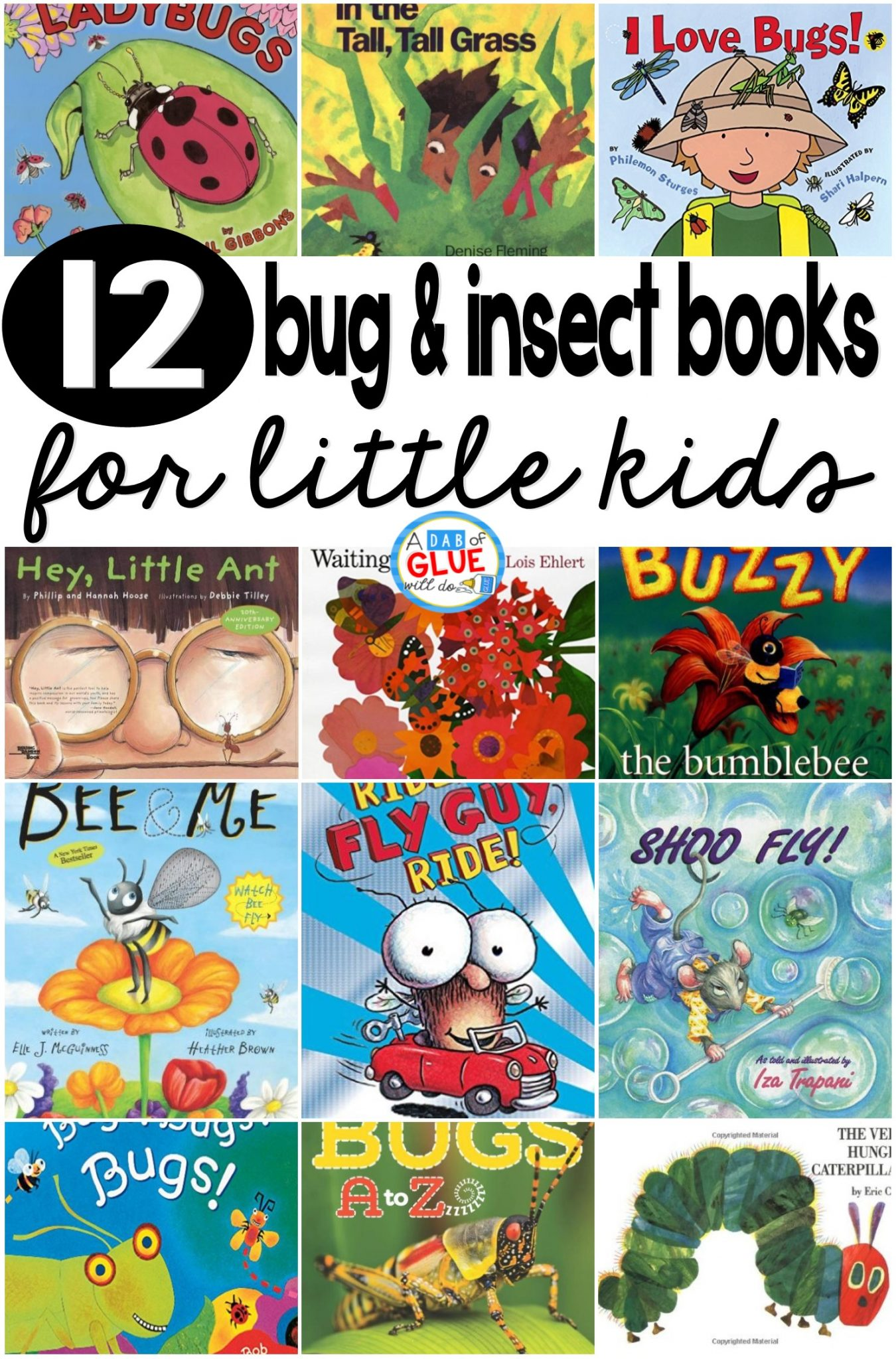 12 Bug And Insect Books For Little Kids