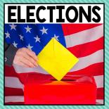 There are so many different election activities that you can do at home or in the classroom. This page allows you to quickly see our favorite election ideas, activities and printables that have been featured on A Dab of Glue Will Do.