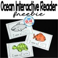 I always loved using emergent readers when I was teaching. They are a great tool to help improve reading skills and increase vocabulary. My new freebie, I See Ocean Animals Interactive Emergent Reader, allows students to do both of these things, while learning about ocean animals. Animal words can be tricky and this resource will help students to better retain what they are learning.