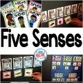 Engage your class in an exciting hands-on experience learning the five senses! Perfect for science activities for Kindergarten, First Grade, and Second Grade classrooms and packed full of inviting science activities. Students will learn five senses science lessons through poems, hands-on senses lessons, and inviting senses printables. This pack is great for homeschoolers, unit studies, and includes science lesson plans!