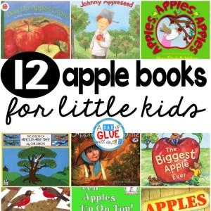 12 Apple Books for Little Kids