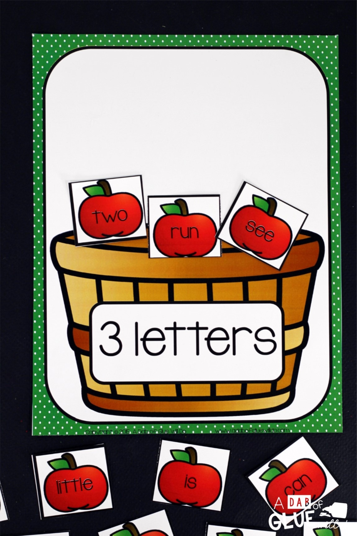 Apple Literacy And Math Centers