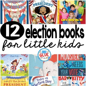 12 Election Books for Little Kids