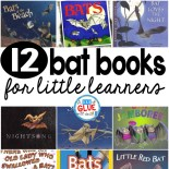 Our 12 favorite bat books are the perfect addition for your Halloween lesson plans. These are great for preschool, kindergarten, or first grade students.