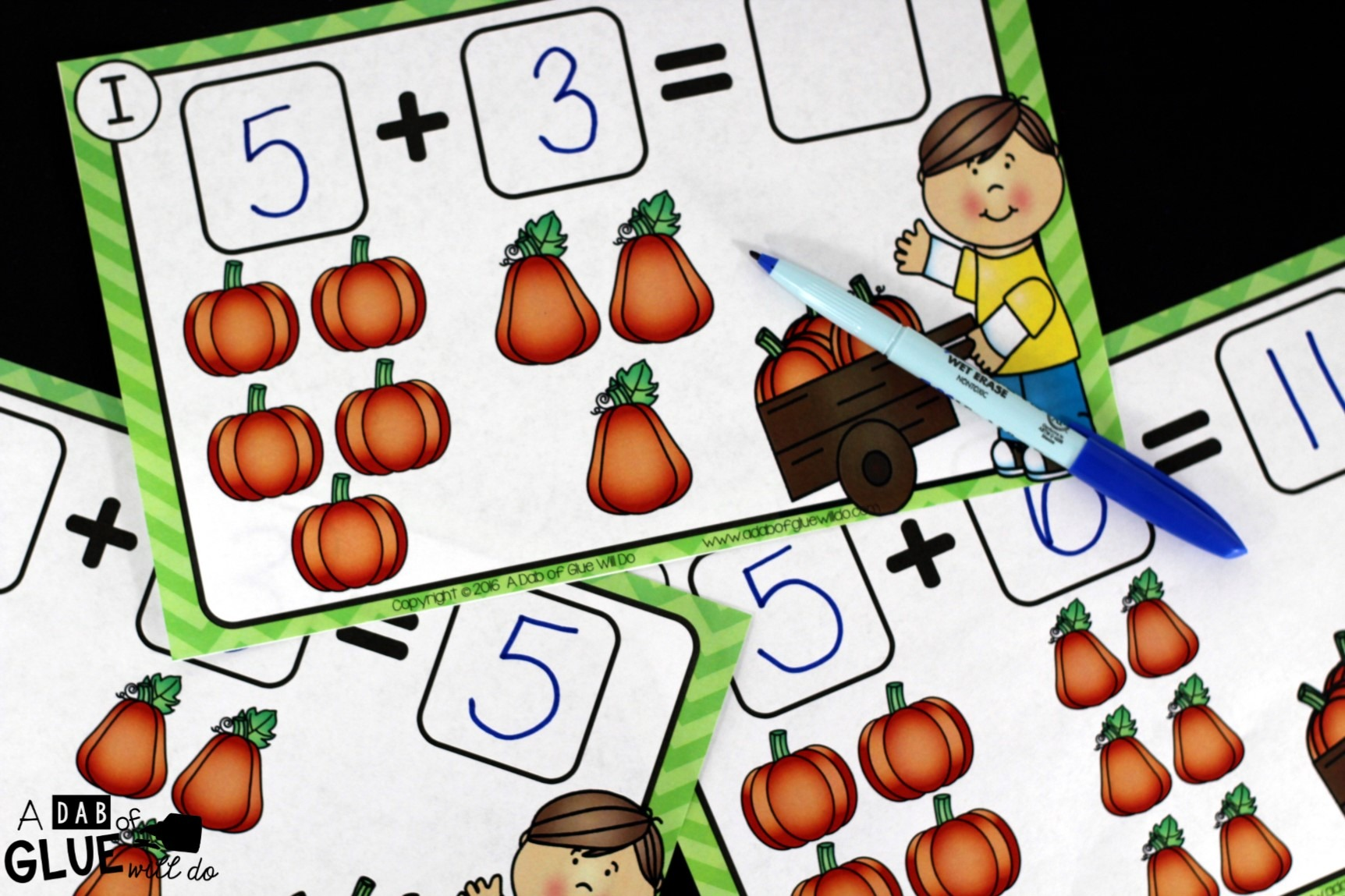 Pumpkin Addition Mats